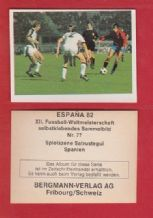 Spain Jesus Maria Satrustegui Real Sociedad 77